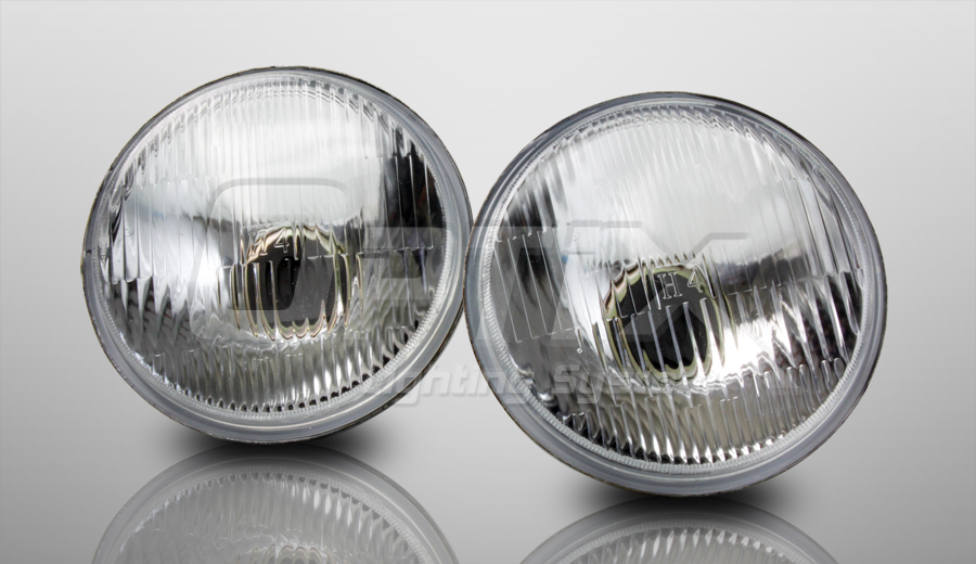 h5001 h5006 round sealed beam headlight with h4. Black Bedroom Furniture Sets. Home Design Ideas